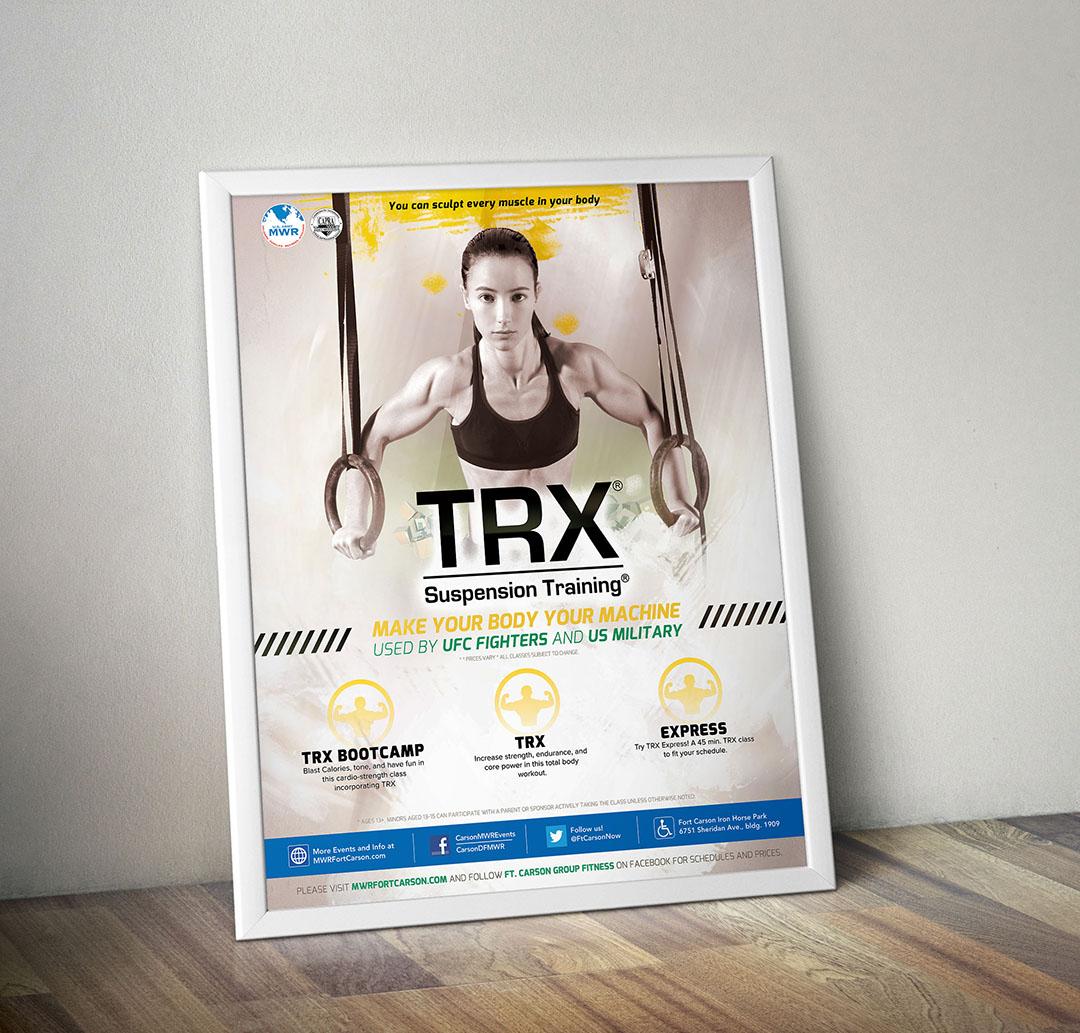 TRX - Poster Frame MockUp - Multimedia by Chris